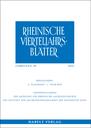 Rheinische Vierteljahrsblätter logo